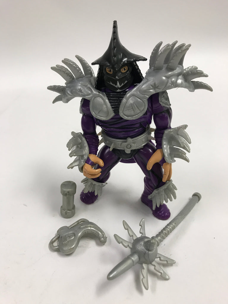Playmates Teenage Mutant Ninja Turtles TMNT Movie Star Super Shredder Loose Complete