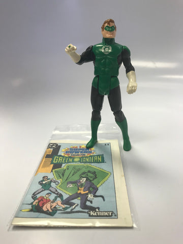 1984 DC Comics Kenner Super Powers The Green Lantern Hal Jordan Loose Complete