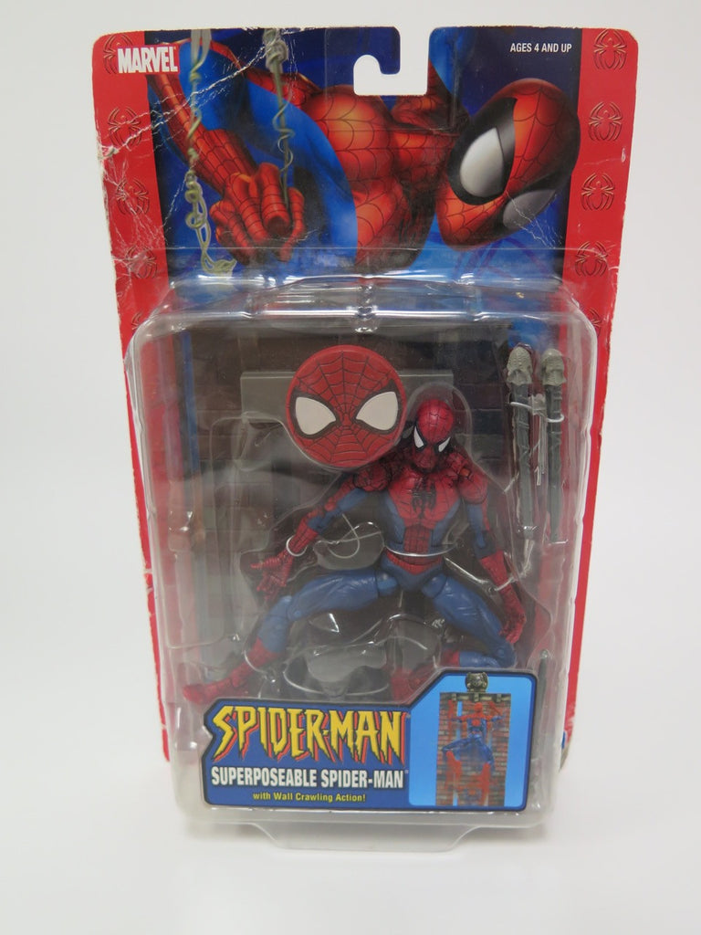 2004 Marvel McFarlane Spider-Man (Toy Biz, Carded)