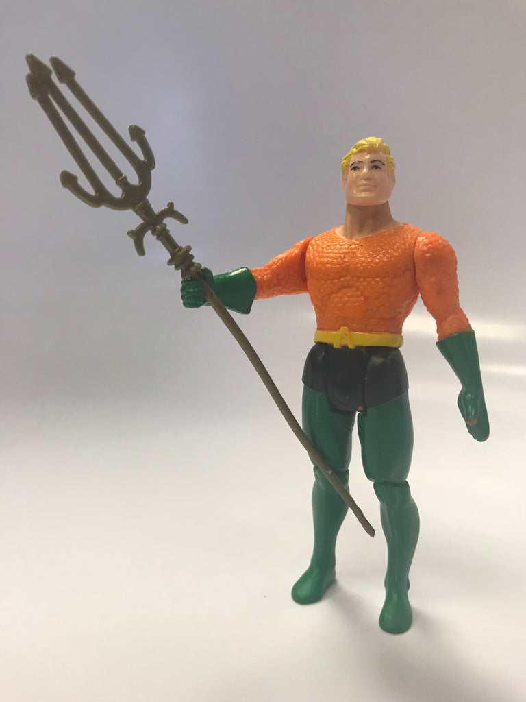 1984 DC Comics Kenner Super Powers Aquaman Loose Complete