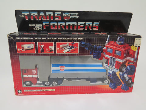 1984 Hasbro Transformers Optimus Prime G1