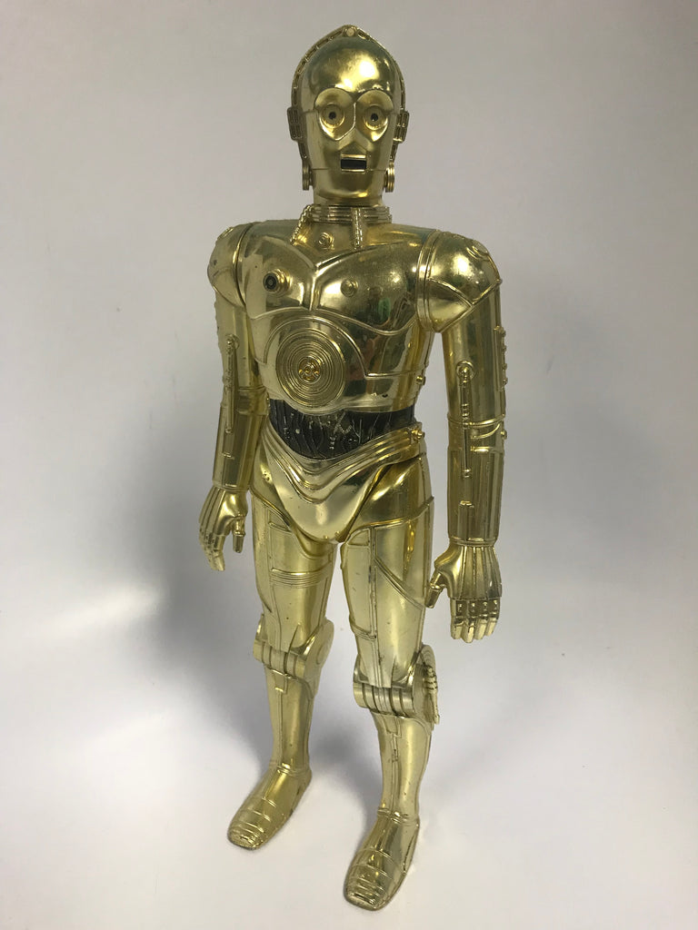 "1978 Kenner Star Wars 12"" Scale C-3PO See-Threepio Large Size Action Figure"