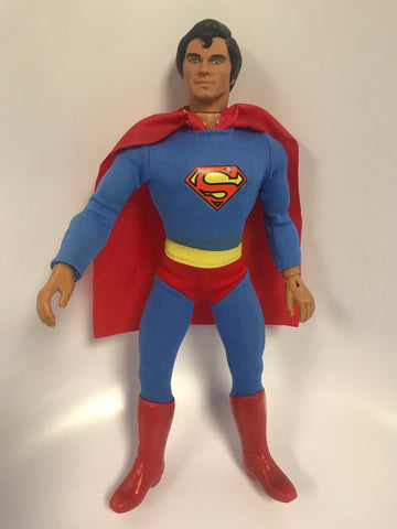 "1977 Mego Corporation Superman: The Movie Christopher Reeve ""Fly Away Action"" Superman 12"""