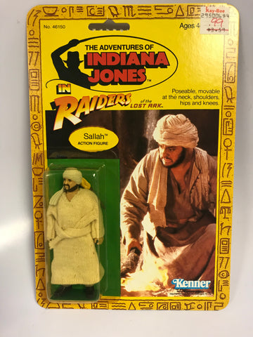 1982 Vintage Kenner Indiana Jones Raiders of the Lost Ark Sallah MOC Unopen