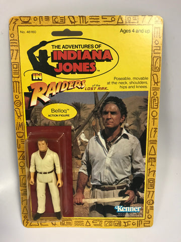 1982 Vintage Kenner Indiana Jones Raiders of the Lost Ark Belloq MOC Unopen