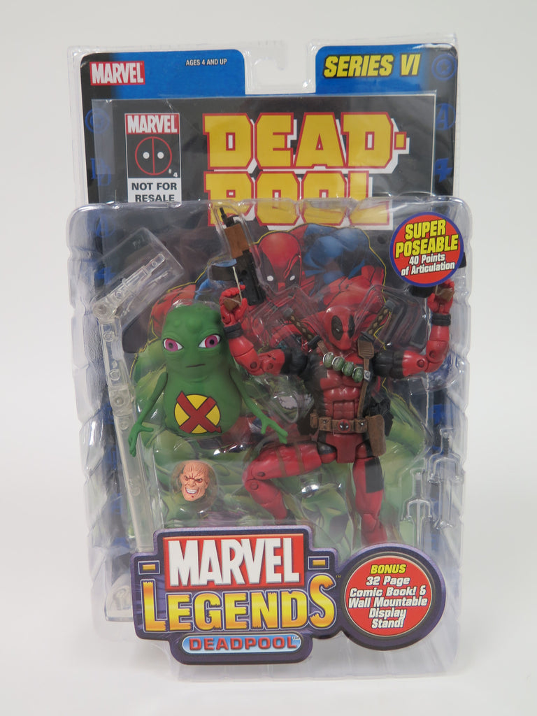 Toy Biz Marvel Legends Series 6 Deadpool with Doop