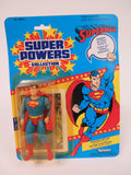 DC Comics Kenner Super Powers Superman 12 Back Canadian Card