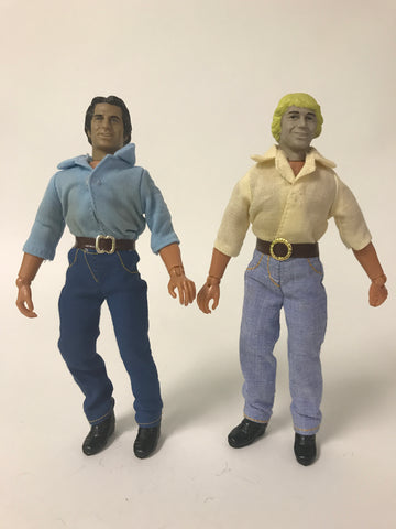 1980 MEGO The Dukes of Hazzard Bo & Luke Duke