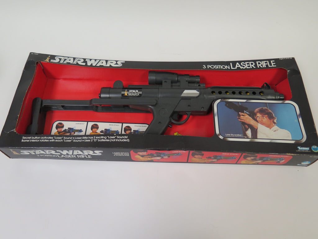 1978 Kenner Star Wars 3 Position Laser Rifle