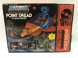 1982 Mattel He-Man & The Masters of the Universe Point Dread Complete In Box