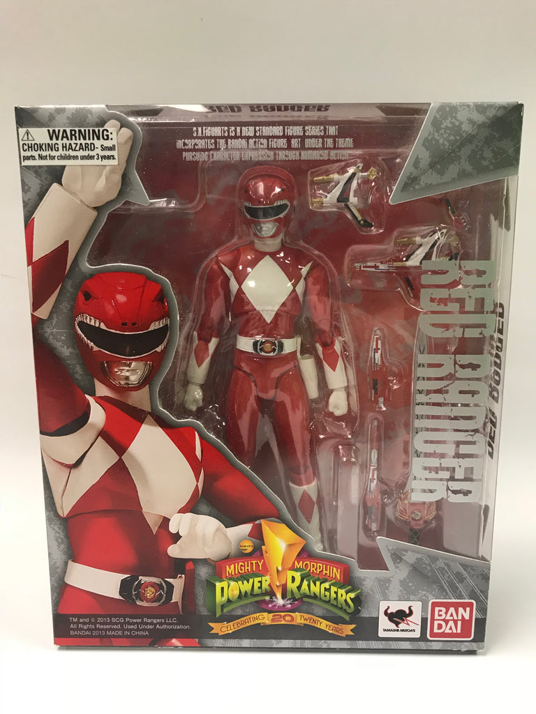 Bandai Tamashii Nations S.H. Figuarts Jason The Red Ranger Mighty Morphin Power Rangers
