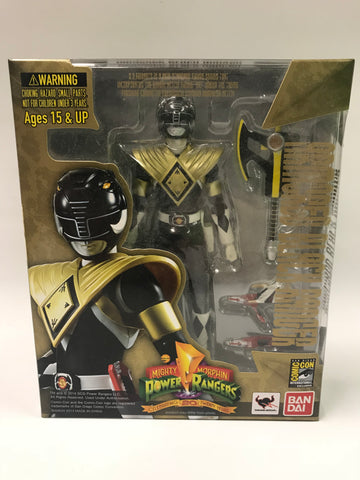 Bandai Tamashii Nations S.H. Figuarts Armored Black Ranger Mighty Morphin Power Rangers