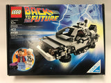 Lego Cuusoo Back to the Future #21103 DeLorean & Minifigs Complete in Opened