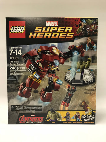 LEGO Marvel Super Heroes Avengers: Age of Ultron The Hulk Buster Smash (76031) Sealed New in Box