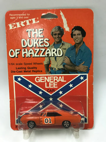1981 Ertl Toys The Dukes of Hazzard General Lee 1:64 Scale Die-Cast Car MOC Sealed