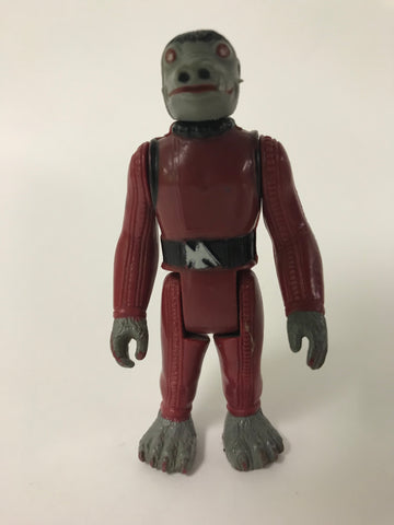 1977 Kenner Star Wars Short Red Snaggletooth COO HK Incomplete No Weapon