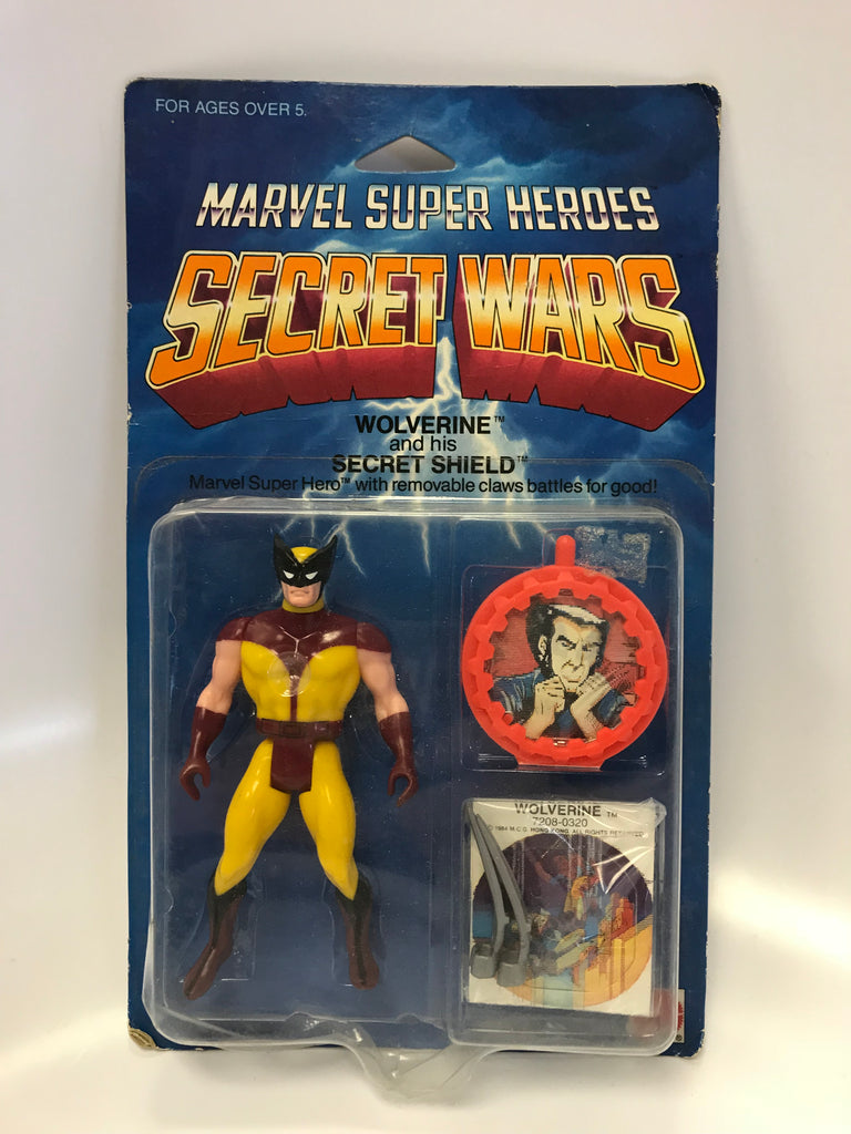 1984 Mattel Marvel Comics Secret Wars Wolverine (Silver Claws) MOC Sealed Unopened