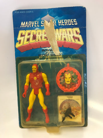 1984 Mattel Marvel Comics Secret Wars Iron Man Tony Stark MOC Sealed Unopened