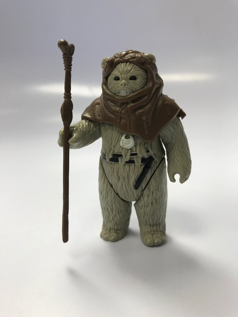 1983 Kenner Star Wars Return of the Jedi Ewok Logray COO Hong Kong Loose Complete