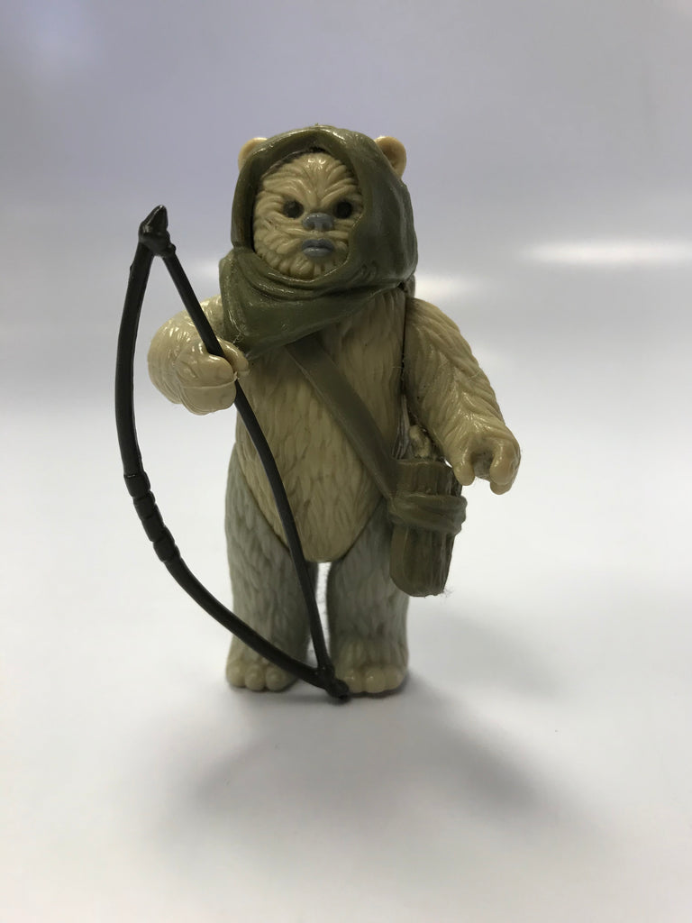 1985 Kenner Star Wars Return of the Jedi Ewok POTF Power of the Force Last 17 Paploo Loose Complete
