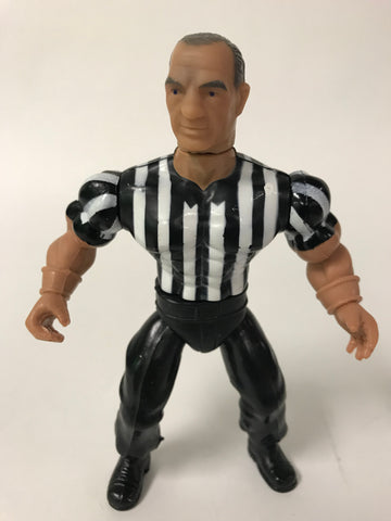 1985 Remco AWA All Stars of Wrestling Dick Woehrle Referee Mat Mania Wrestling Figure