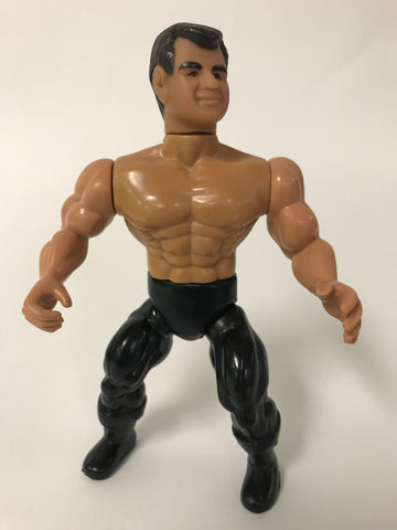 1985 Remco WWF AWA All Stars of Wrestling Mr. Perfect Curt Henning Mat Mania Wrestling Figure