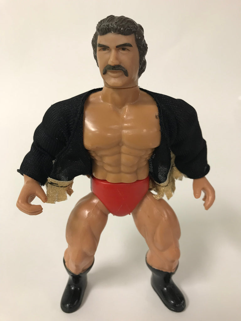 "1985 Remco WWF AWA All Stars of Wrestling ""Big"" Scott Hall Razor Ramon Mat Mania Wrestling Figure"