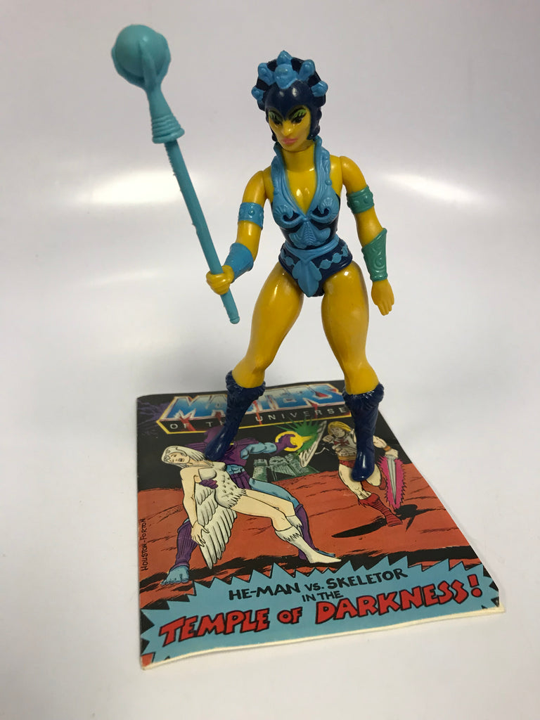 1983 Mattel He-Man & The Masters of the Universe Evil Warrior Goddess Evil-Lyn Loose Complete