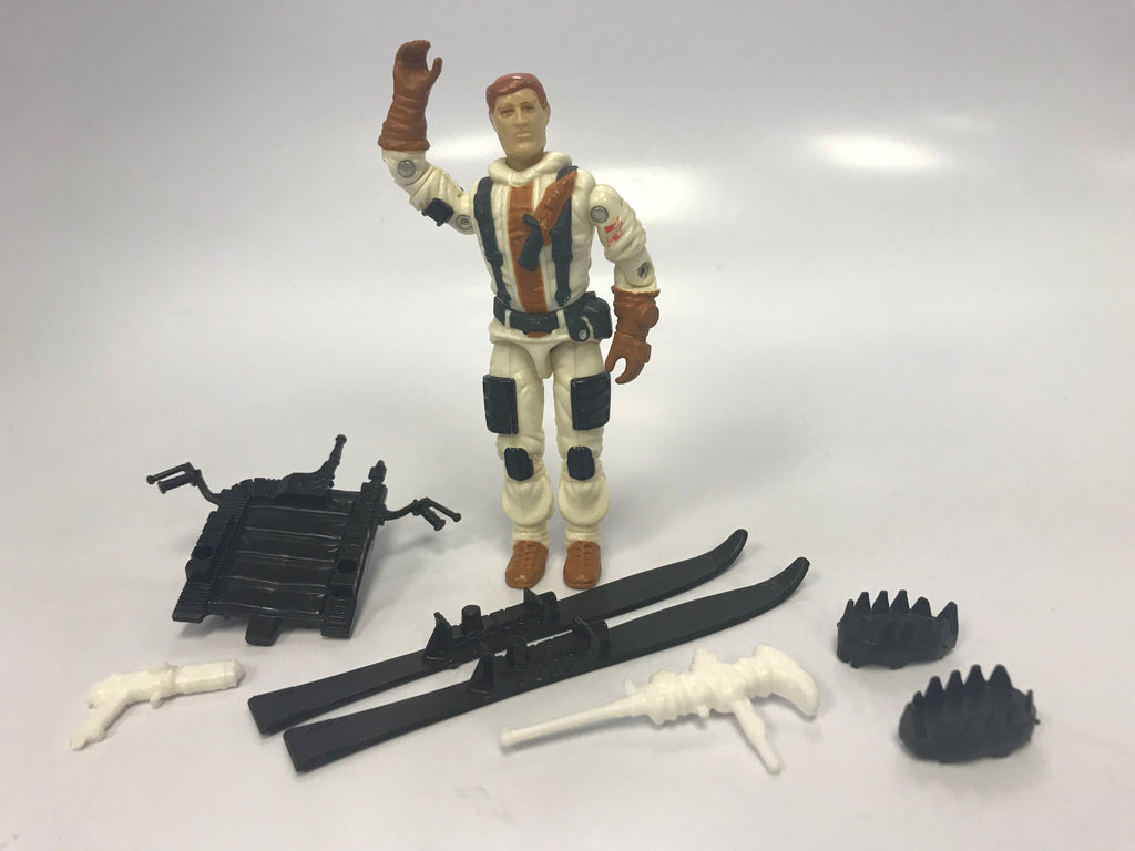 1988 Hasbro GI Joe BLIZZARD (v1)  ARCTIC ATTACK SOLDIER  Loose Complete