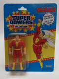 1985 Kenner Super Powers 33 Back Captain Marvel Shazam! Canadian Sealed MISP MOC