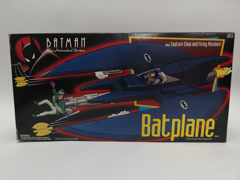 1993 Kenner Batman: The Animated Series TAS Batplane Batwing MISB Sealed New
