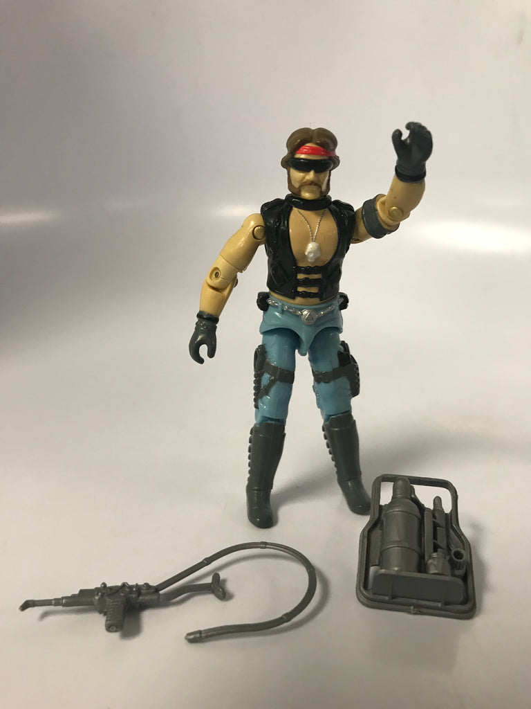 1985 Hasbro Gi Joe TORCH (v1) DREADNOK Loose Complete