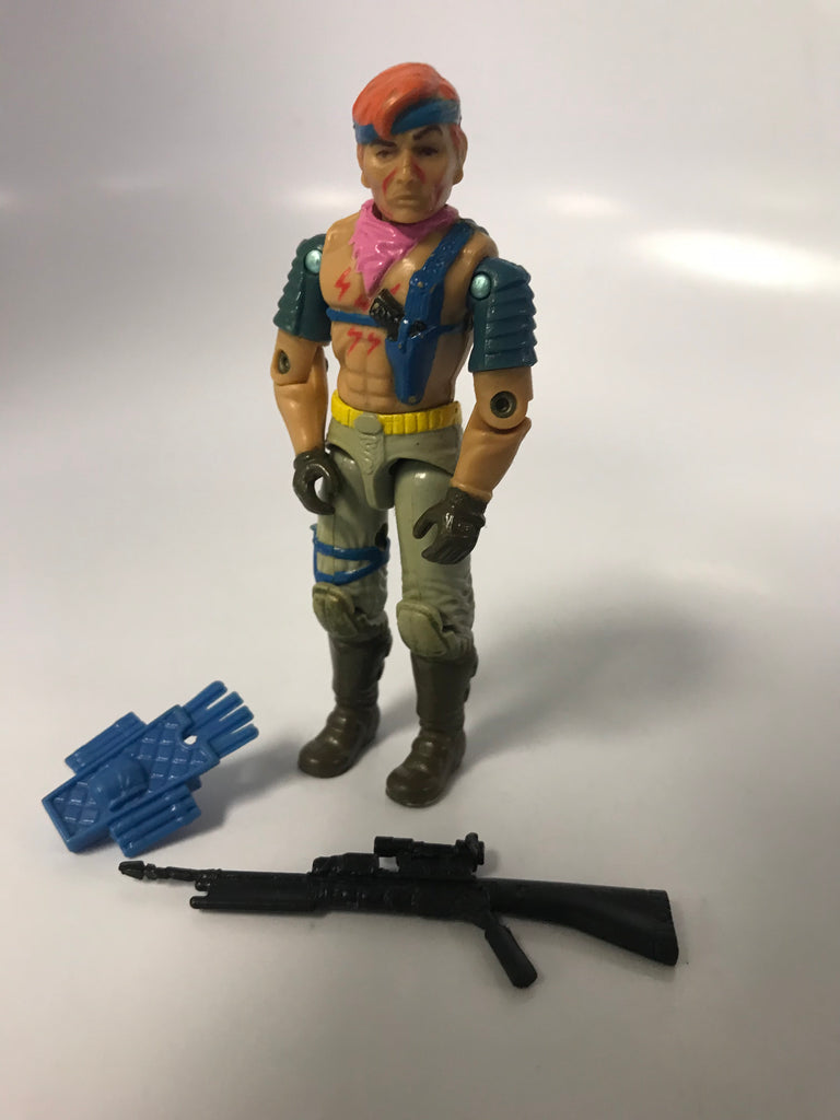 1986 Hasbro Gi Joe ZANDAR (v1) ZARTAN'S BROTHER Loose Complete