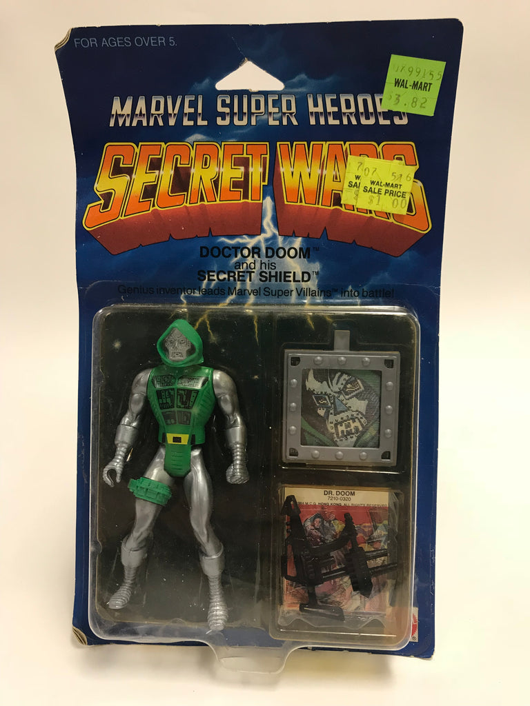1984 Mattel Marvel Comics Secret Wars Doctor Doom MOC Sealed Unopened
