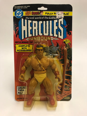 1982 Remco DC Comics Hercules Unbound Lost World of the Warlord UNOPENED SEALED