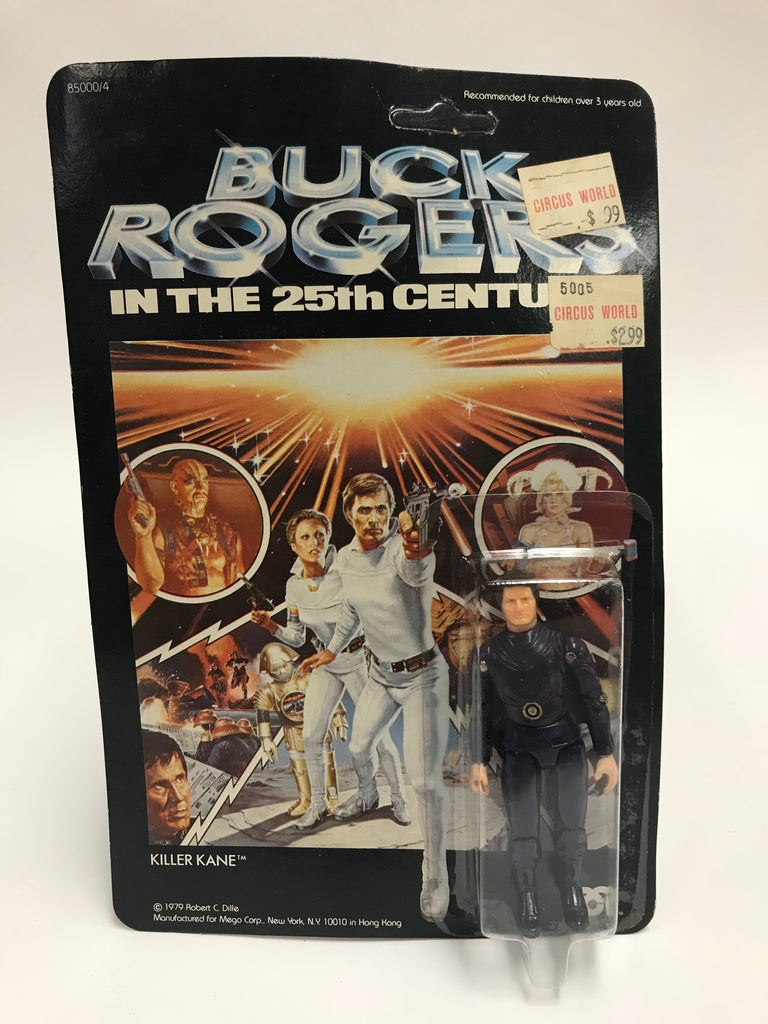 1979 Mego Corporation Buck Rogers in the 25th Century Killer Kane MOC Unopened