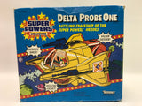 1984 Kenner Super Powers Delta Probe One Complete in Box MOC NOT SEALED