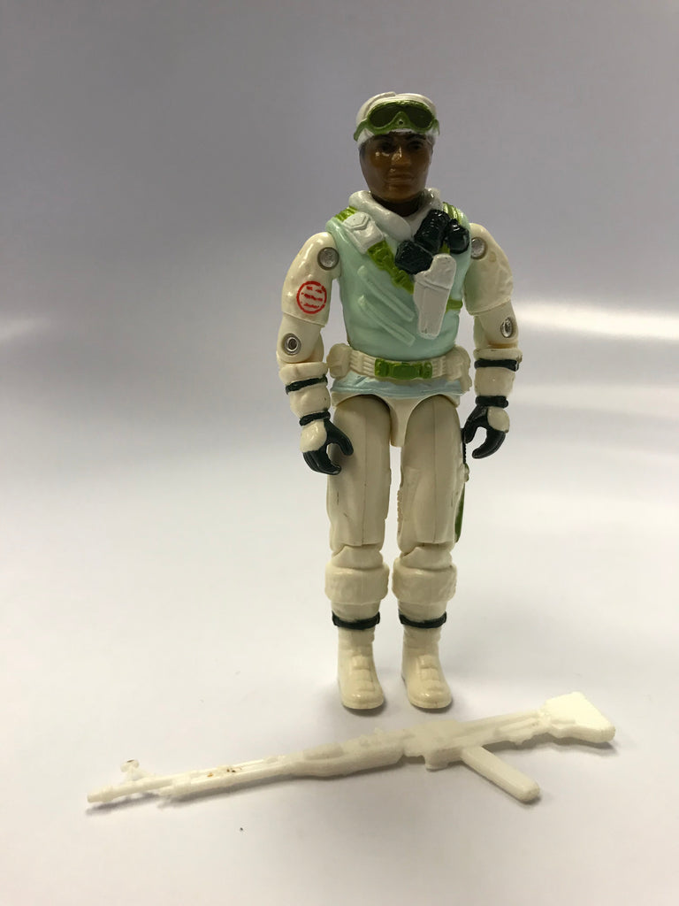 1986 Hasbro Gi Joe ICEBERG (v1) SNOW TROOPER Loose Complete