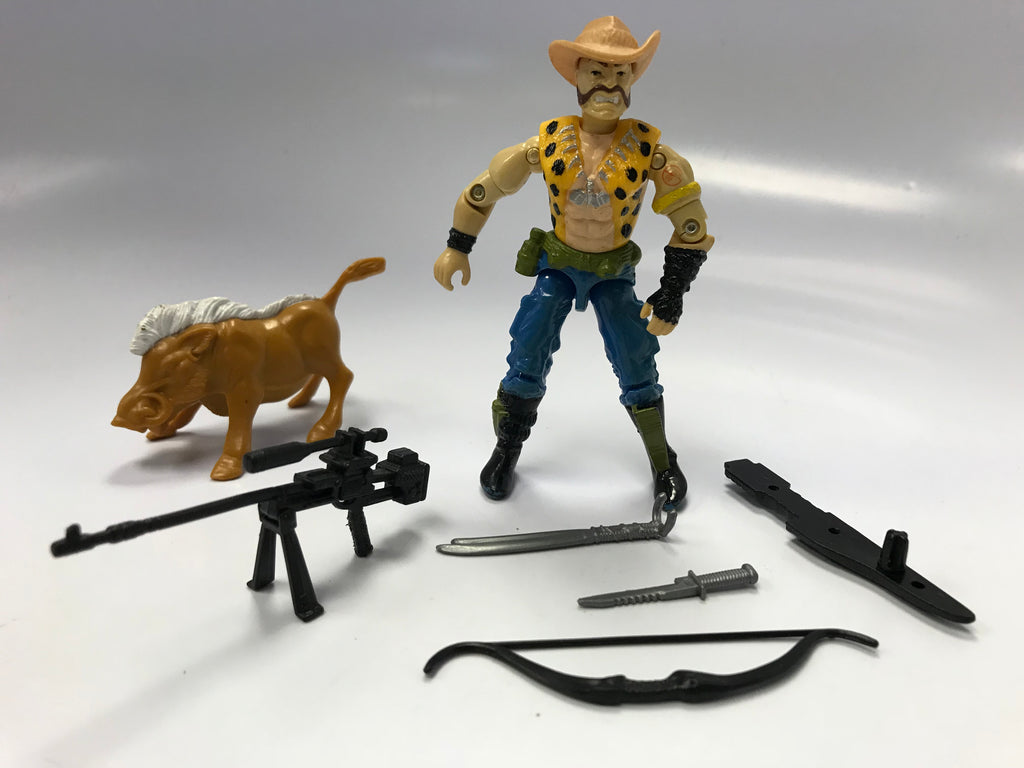 1989 Hasbro Gi Joe GNAWGAHYDE (v1) DREADNOK POACHER Loose Complete