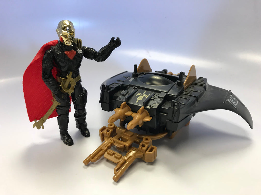 1989 Hasbro Gi Joe Iron Grenadier's Destro's Despoiler Loose Complete