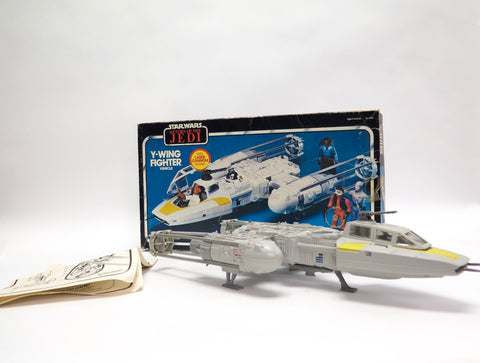 1983 Kenner Star Wars Y-Wing Fighter