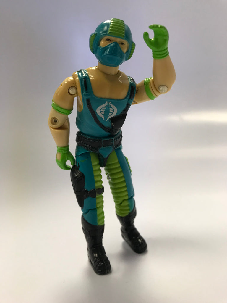 1984 Hasbro Gi Joe COPPERHEAD (v1) WATER MOCCASIN PILOT Loose Complete