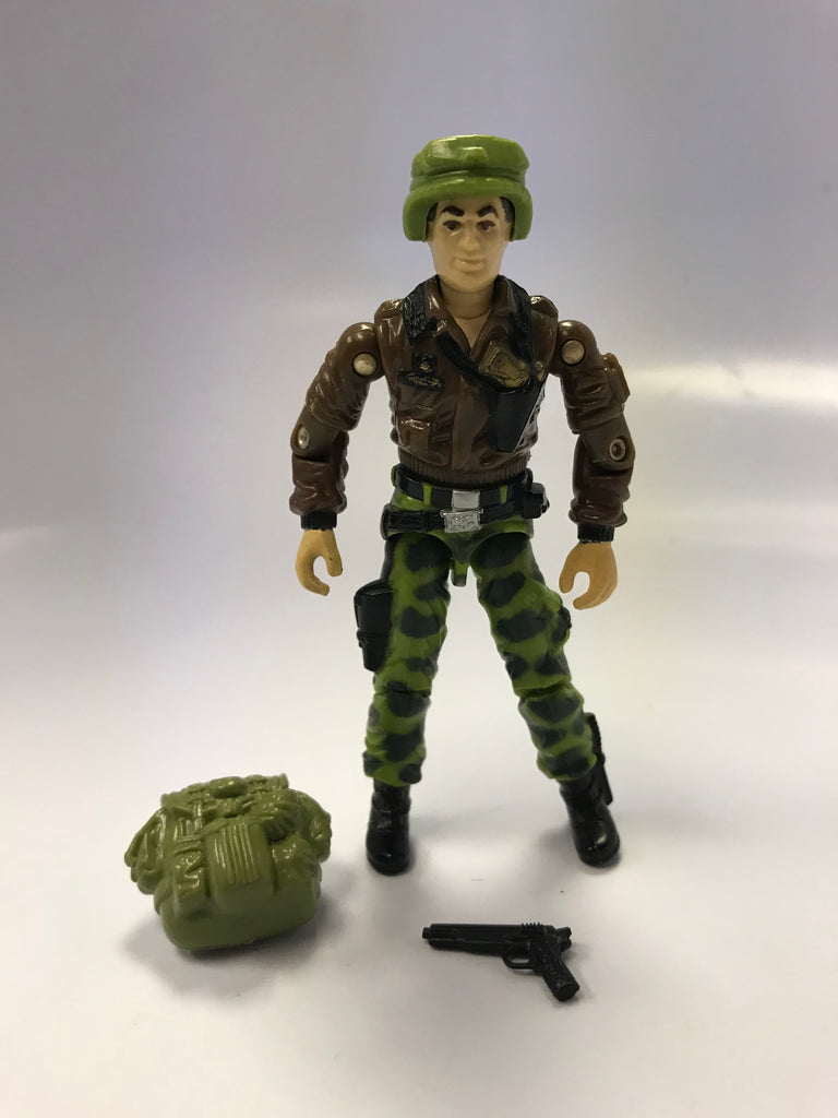 1982 Hasbro Gi Joe HAWK (v2) G.I. JOE COMMANDER Loose Complete