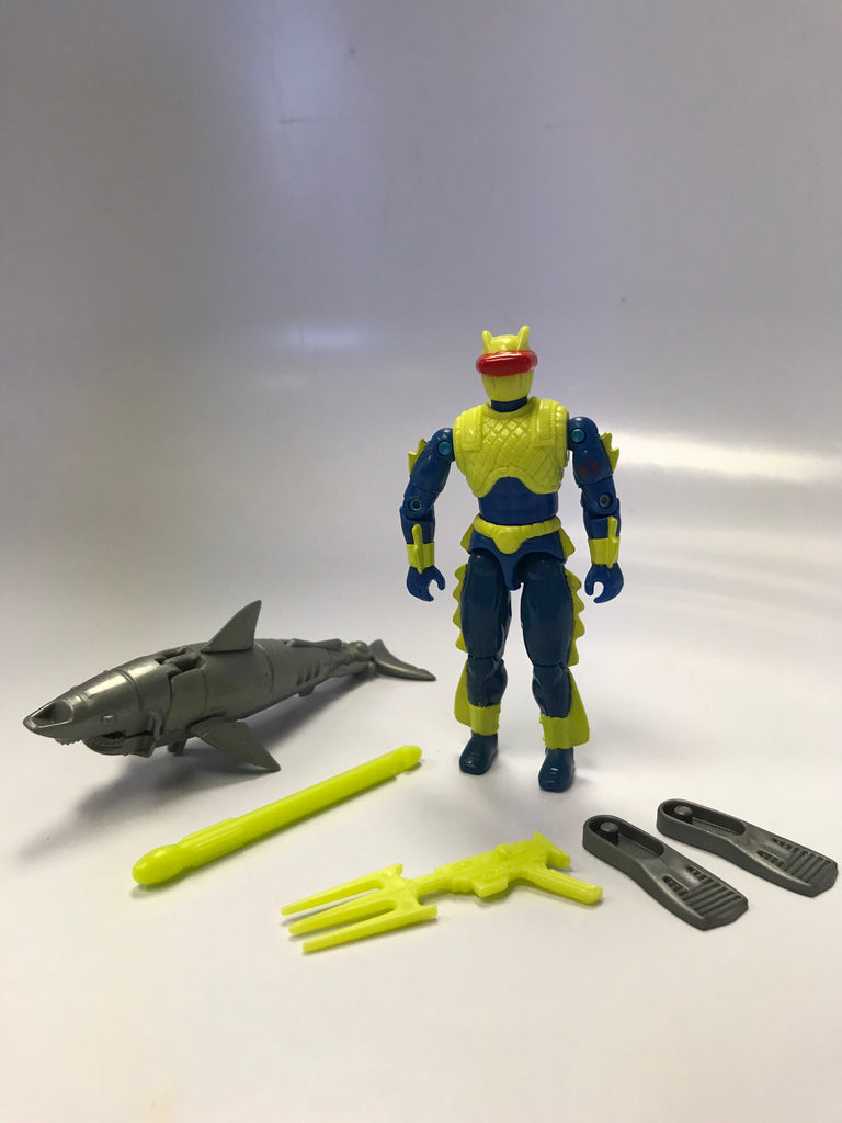 1992 Hasbro Gi Joe EELS (v2) COBRA UNDERWATER DEMOLITIONS Loose Complete