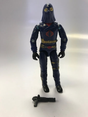 1983 Hasbro Gi Joe COBRA COMMANDER (v2) ENEMY LEADER Loose Complete