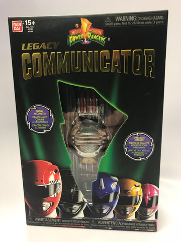2013 Bandai Saban Mighty Morphin Power Rangers Legacy Communicator SEALED Unopen Box