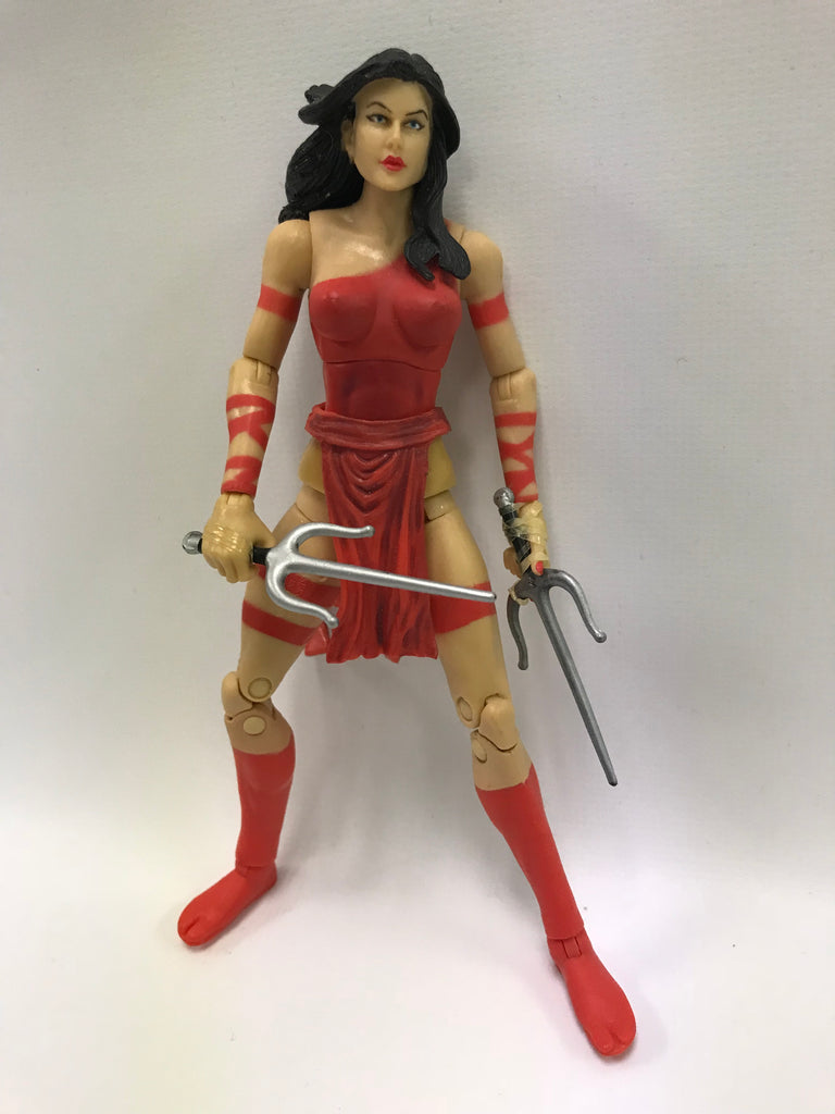 Hasbro Marvel Legends Elektra (TRU Exclusive Two Pack) Loose Complete