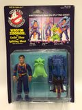 1986 Kenner The Real Ghostbusters Power Pack Heroes Cyclin Slicer Winston Zeddmore with Splitting Ghost SEALED MOC UNOPEN