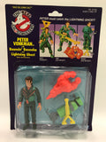 1986 Kenner The Real Ghostbusters Power Pack Heroes Bouncing Bazooka Peter Venkman with Lightning Ghost SEALED MOC UNOPEN