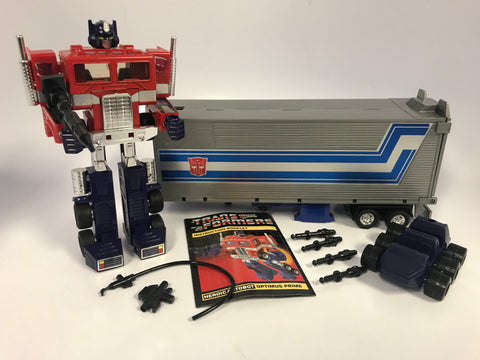 1984 Hasbro Transformers Optimus Prime G1 100% Complete in Beautiful Condition